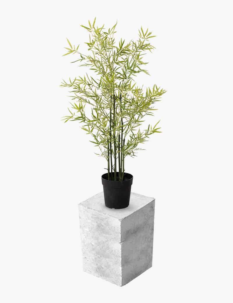 צמח ליידי במבוק מלאכותי | Garden Market - צמחיה מלאכותית איכותית
