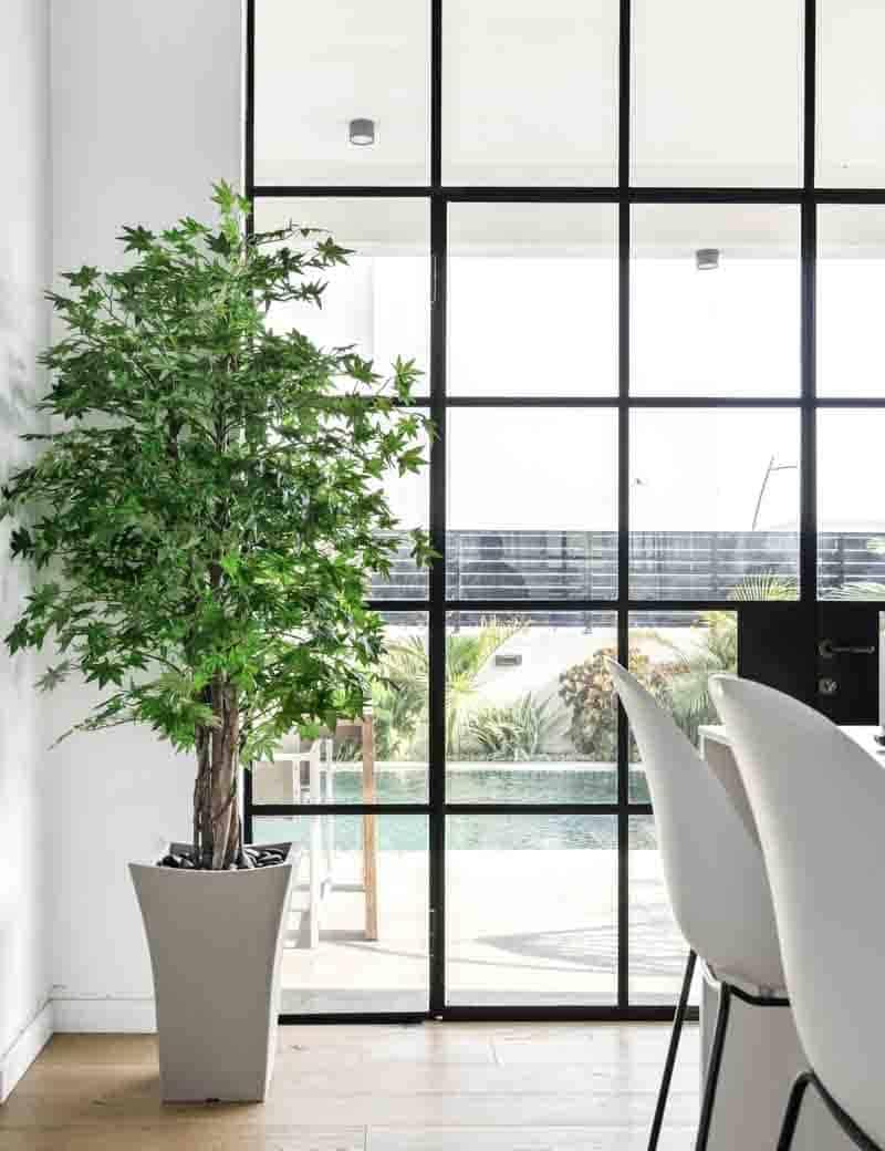 עץ מייפל ירוק מלאכותי למרפסת | גרדן מרקט - צמחיה מלאכותית איכותית